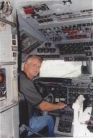 DC-7B left seat