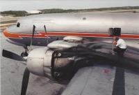 DC-7B en route stop