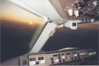 Boeing 757 westbound