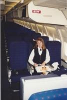 Boeing 757 cabin